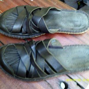 Brown Leather Patagonia Sandal Sz 8